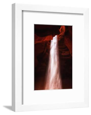 Light Fall Antelope Canyon Abstact Southwest Page Arizona Navajo-Vincent James-Framed Photographic Print