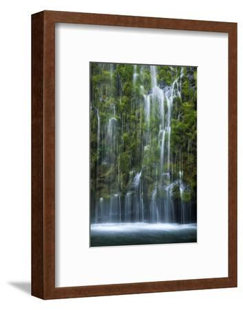 Mossbrae Weeping Waterfall, Mount Shasta California-Vincent James-Framed Photographic Print