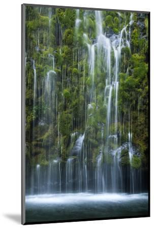 Mossbrae Weeping Waterfall, Mount Shasta California-Vincent James-Mounted Photographic Print