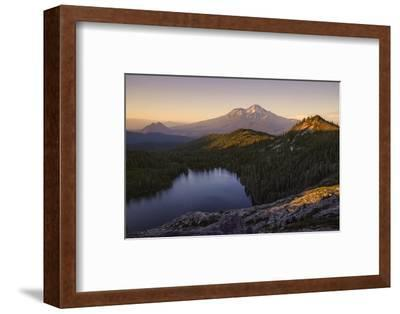Day's End at Castle Lake Overlook Mount Shasta Northern California-Vincent James-Framed Photographic Print