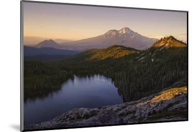 Day's End at Castle Lake Overlook Mount Shasta Northern California-Vincent James-Mounted Photographic Print