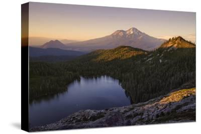 Day's End at Castle Lake Overlook Mount Shasta Northern California-Vincent James-Stretched Canvas Print