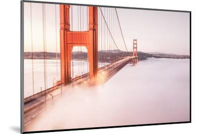 Deck Fog at Golden Gate Bridge, San Francisco-Vincent James-Mounted Photographic Print
