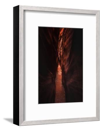 Narrow Pass Buckskin Gulch Slot Canyon Utah Southwest-Vincent James-Framed Photographic Print