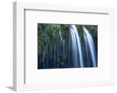 Mossbrae Falls Detail, Waterfall, Mount Shasta California-Vincent James-Framed Photographic Print