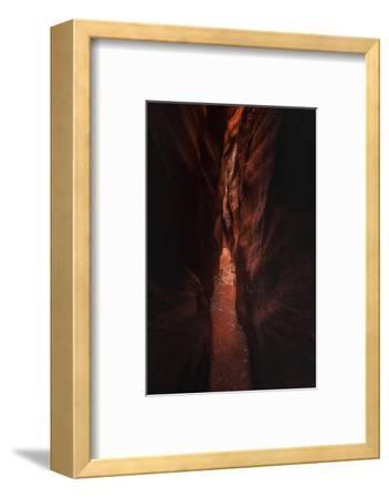 Deep Trek Buckskin Gulch Slot Canyon Utah Southwest-Vincent James-Framed Photographic Print