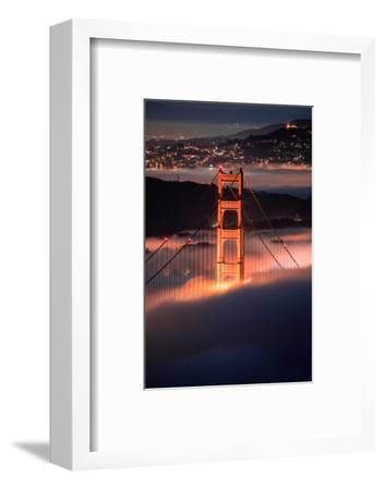 In The Pocket Golden Gate Fog San Francisco Bay Area-Vincent James-Framed Photographic Print