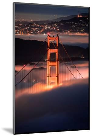 In The Pocket Golden Gate Fog San Francisco Bay Area-Vincent James-Mounted Photographic Print