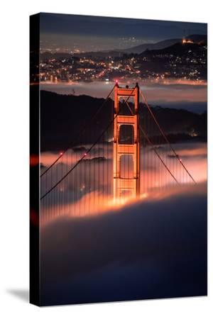 In The Pocket Golden Gate Fog San Francisco Bay Area-Vincent James-Stretched Canvas Print