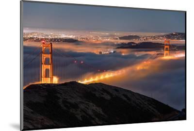 Golden Gate Pocket Resting in Fog San Francisco Bay Area-Vincent James-Mounted Photographic Print