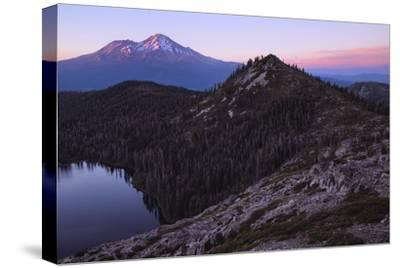 Summer Sunset, Castle Lake Overlook Mount Shasta Northern California-Vincent James-Stretched Canvas Print
