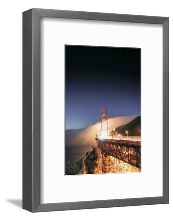 Going With The Flow Morning Fog Golden Gate Bridge Vista-Vincent James-Framed Photographic Print