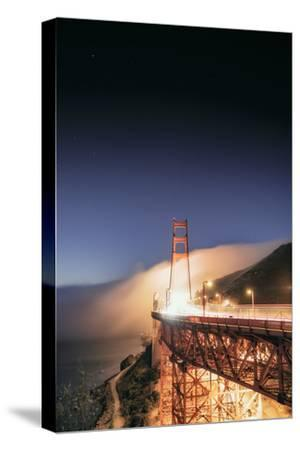 Going With The Flow Morning Fog Golden Gate Bridge Vista-Vincent James-Stretched Canvas Print