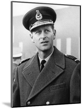 Prince Philip in uniform-Associated Newspapers-Mounted Photo