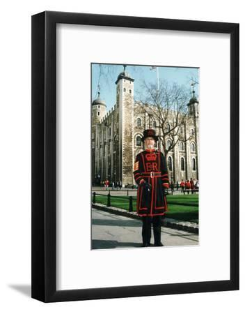 Yeoman Warder of the Tower of London-Associated Newspapers-Framed Photo
