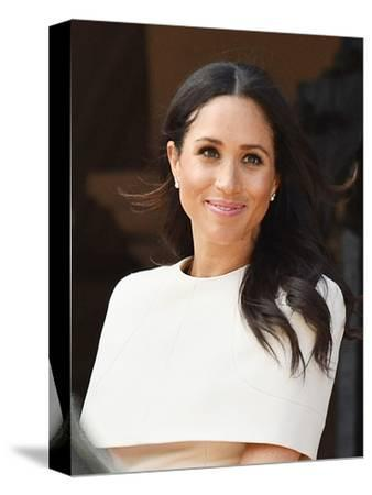Meghan, Duchess of Sussex in Chester, England-Associated Newspapers-Stretched Canvas Print