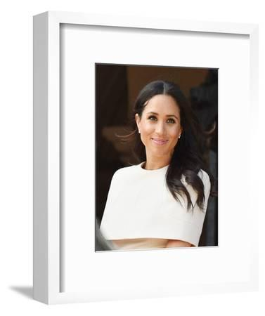 Meghan, Duchess of Sussex in Chester, England-Associated Newspapers-Framed Photo