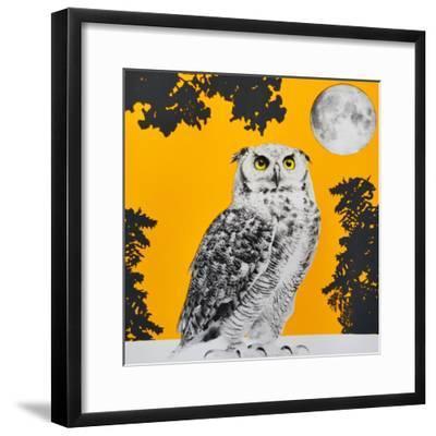 Moonbathing--Framed Giclee Print