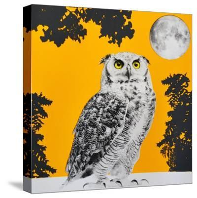 Moonbathing--Stretched Canvas Print