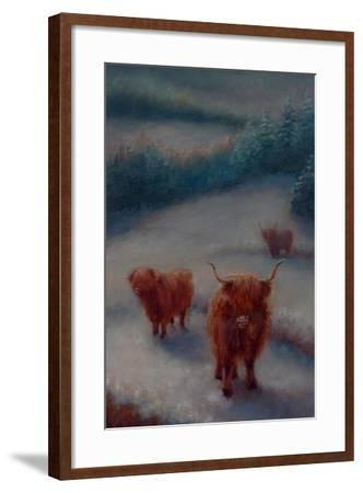 Highland Cattle-Lee Campbell-Framed Giclee Print