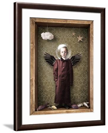 Learning to fly-Trygve Skogrand-Framed Giclee Print