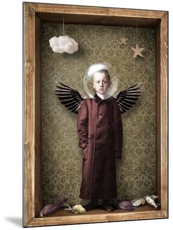 Learning to fly-Trygve Skogrand-Mounted Giclee Print