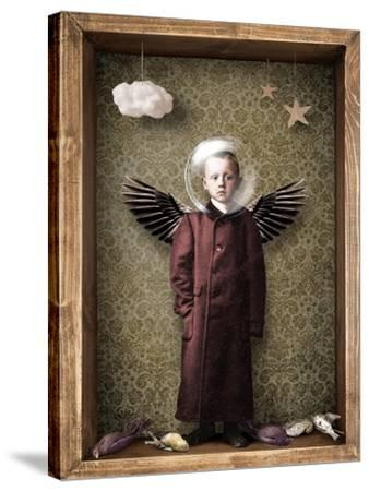 Learning to fly-Trygve Skogrand-Stretched Canvas Print