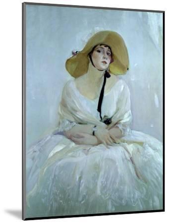 Raquel Meller, Tarazona, 1888 - 1962. Oil on canvas-Sorolla Joaquin-Mounted Giclee Print
