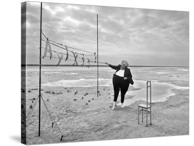 Buchstaben 5, 2015-Jaschi Klein-Stretched Canvas Print