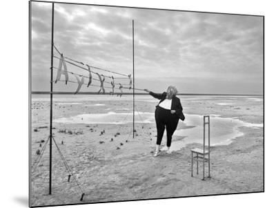 Buchstaben 5, 2015-Jaschi Klein-Mounted Photographic Print