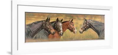 Giltedge, Custom Made, Biko and Prince Panache-Sandra Lawrence-Framed Giclee Print