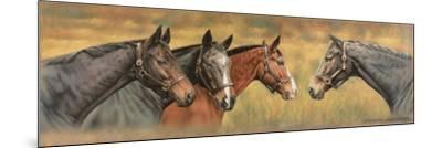 Giltedge, Custom Made, Biko and Prince Panache-Sandra Lawrence-Mounted Giclee Print