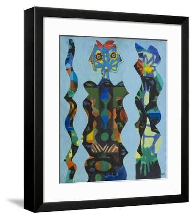 Three Figures, 1965-Eileen Agar-Framed Giclee Print