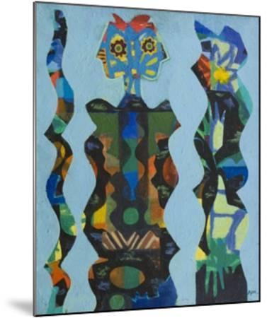 Three Figures, 1965-Eileen Agar-Mounted Giclee Print