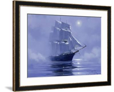 Solent'- Out of the Nightmist, 2009--Framed Giclee Print
