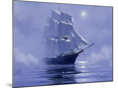 Solent'- Out of the Nightmist, 2009--Mounted Giclee Print
