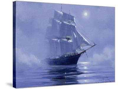 Solent'- Out of the Nightmist, 2009--Stretched Canvas Print