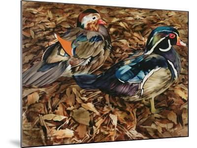 Carolonia Ducks, 1991-Sandra Lawrence-Mounted Giclee Print