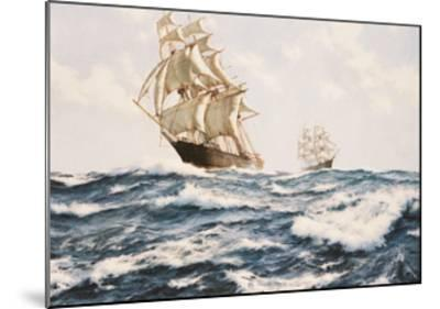The Clipper 'Fychow' in company--Mounted Giclee Print