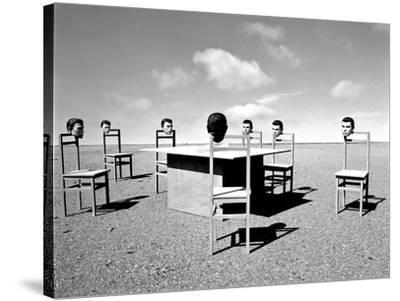 Konferenzen 6, 2015-Jaschi Klein-Stretched Canvas Print