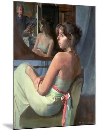 Stephanie in Profile, 1979-John Stanton Ward-Mounted Giclee Print
