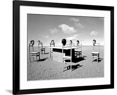 Konferenzen 6, 2015-Jaschi Klein-Framed Photographic Print