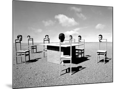 Konferenzen 6, 2015-Jaschi Klein-Mounted Photographic Print