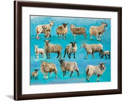 Counting Sheep-Alex Williams-Framed Giclee Print