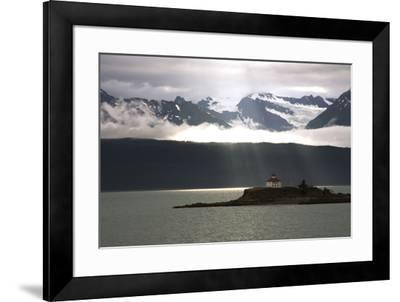 Alaskan Boathouse, 2008--Framed Photographic Print