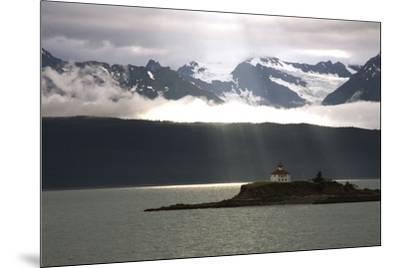 Alaskan Boathouse, 2008--Mounted Photographic Print