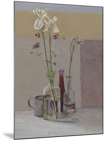 Tall White Irises, 2009-William Packer-Mounted Giclee Print