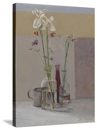 Tall White Irises, 2009-William Packer-Stretched Canvas Print