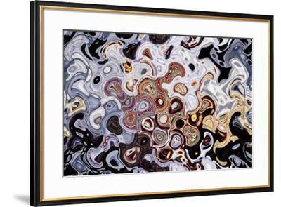 Yolo County Fair Abstract 3 Purple, 2017--Framed Photographic Print