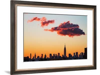 Manhattan Skyline, 2012--Framed Photographic Print